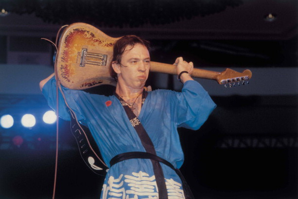 Stevie Ray Vaughan in Honolulu