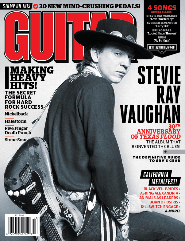 Stevie Ray Vaughan - Guitar World March 2013