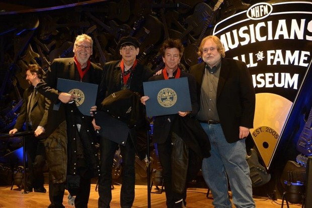 Double Trouble at Musicians Hall of Fame induction ceremony Jan. 28, 2014