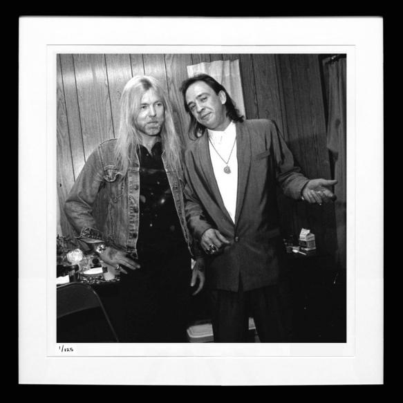 Stevie Ray Vaughan and Greg Allman